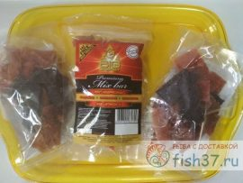 Ломтики вяленого мяса по 90 гр
