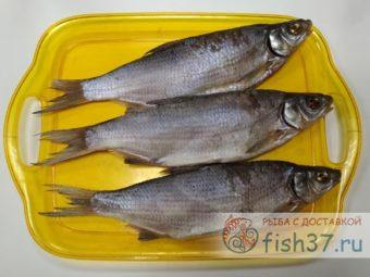 Рыбец вяленый с Азовского моря