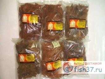 Ломтики вяленого мяса по 500 гр от утки до страуса